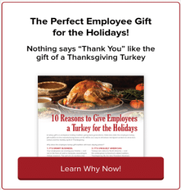10 Reasons to Give Employees a Holiday Turkey