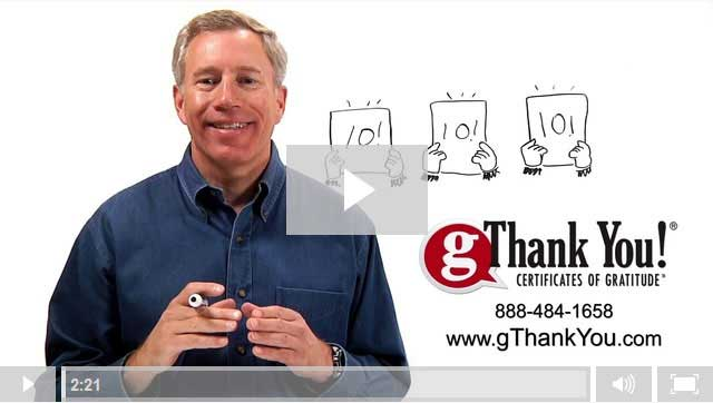 Learn more about gThankYou Employee Gifts - Watch our 'About Us' Video