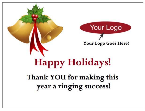 Holiday Bells Enclosure Card-gThankYou