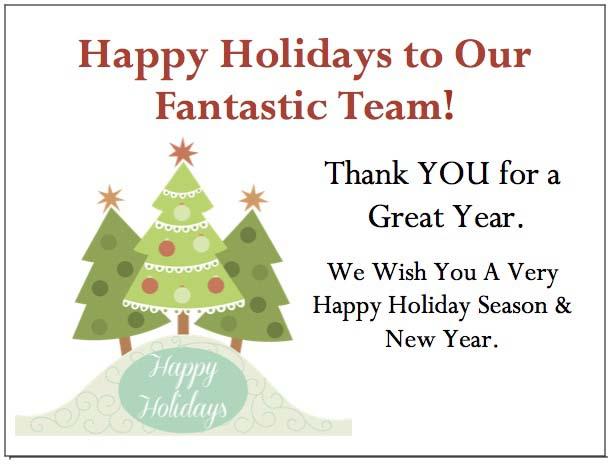 Holiday Tree Enclosure Card-gThankYou
