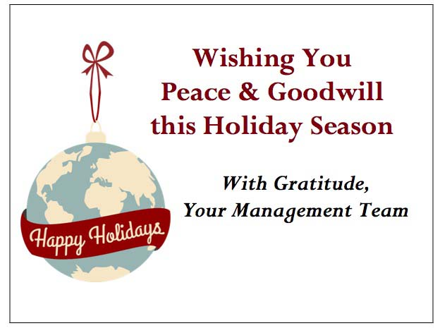 Worldwide Holiday Enclosure Card-gThankYou
