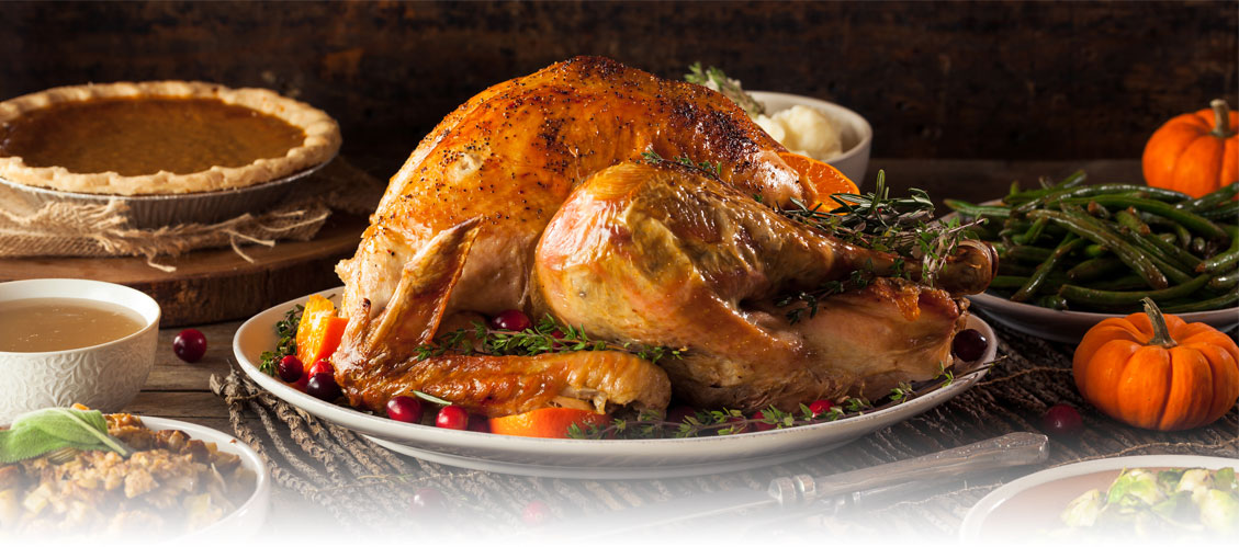 Share the gift of a Thanksgiving Turkey with gThankYou! Turkey Gift Certificates