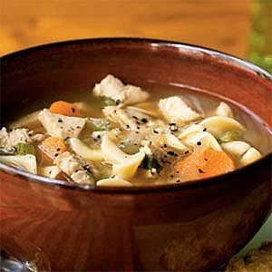 Healing and Healthy Turkey Soup.