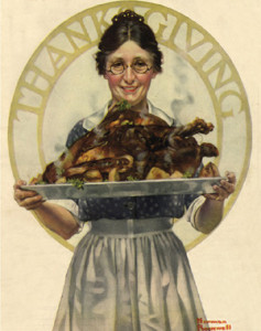 Happy Thanksgiving - Norman Rockwell