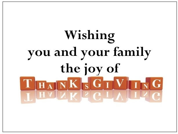 gThankYou! - Thanksgiving Blocks