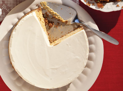 Pumpkin Cheesecake by Saveur
