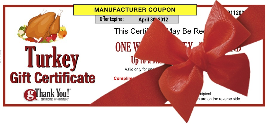 Let your employees pick the perfect holiday bird with a gThankYou! Turkey Gift Certificate!