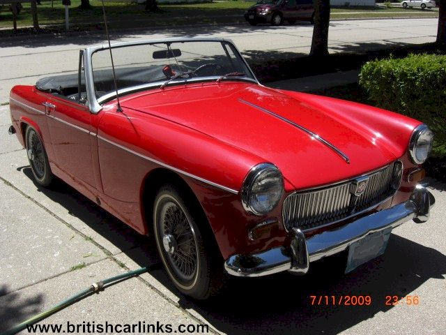 gThankYou! - 1968 Red MG