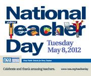 gThankYou! - National Teacher Day NEA Logo