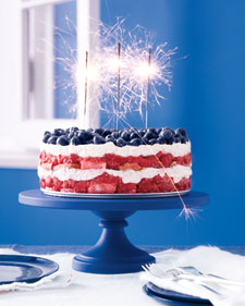 gThankYou! Martha Stewart 4th of July Trifle