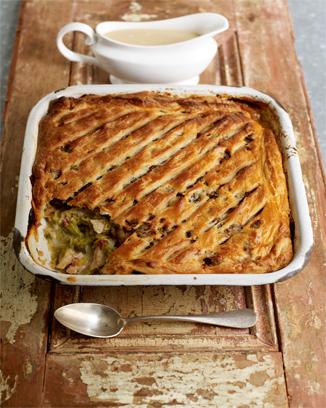 gThankYou! Turkey Sweet Leek Pie