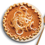 gThankYou! Ginger Pumpkin Pie by Cooking Light