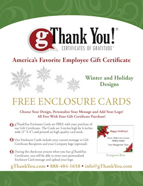 gThankYou Catalog of Winter Holiday Enclosure Designs