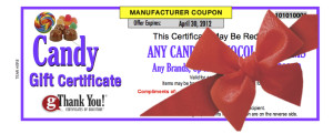 Candy Gift Certificates by gThankYou - An affordable staff gift everyone appreciates!