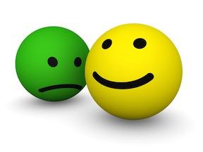 gThankYou! Sad & Happy Smiley Faces
