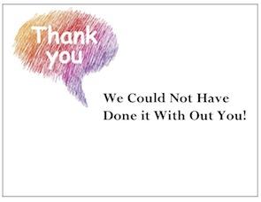 """Thank You Bubble"" by gThankYou! Employee Gifts"