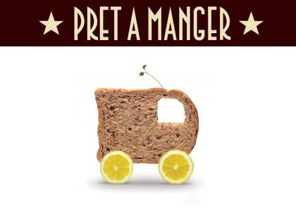 gThankYou! Pret A Manger Logo