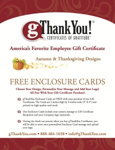 Thanksgiving Thank You Cards - Catalog