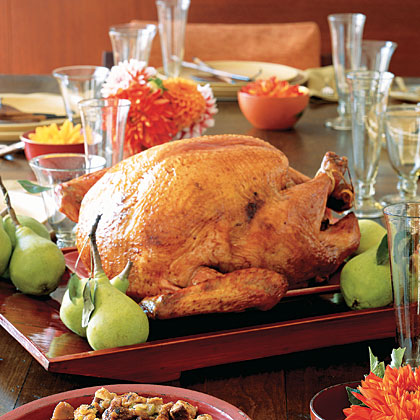 Thanksgiving Turkey - Photo by Dana Gallagher for Real Simple