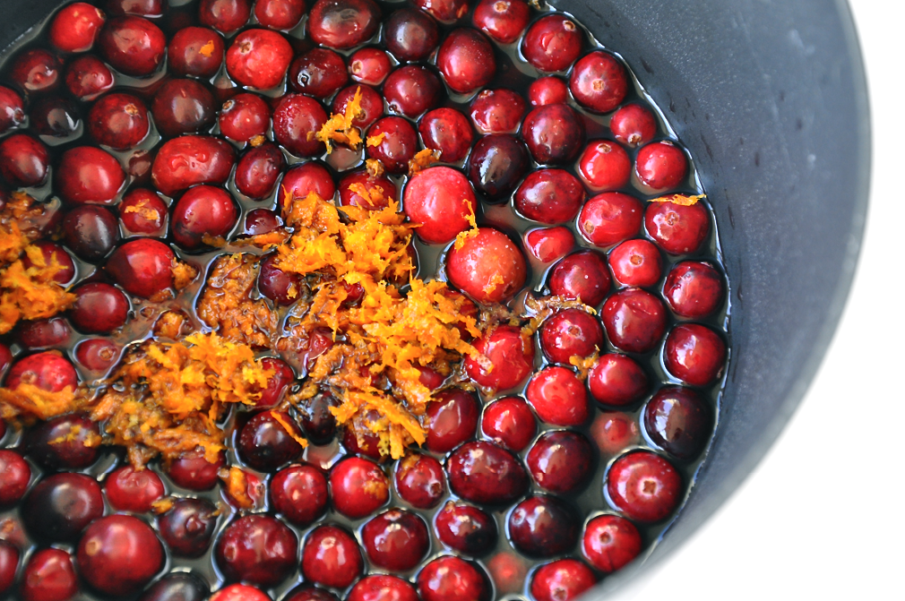 Thanksgiving Side Dishes - Cranberries-and-orange-zest from justataste.com