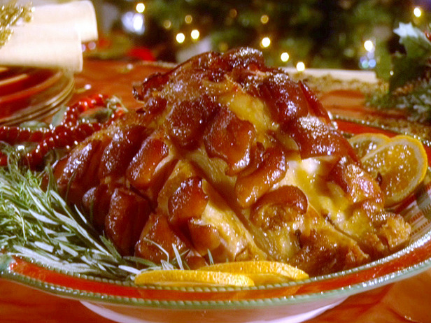Holiday Ham - Bourbon Honey Glazed Ham from Sandra Lee