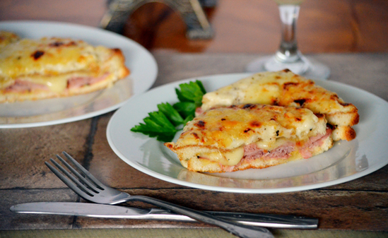 Toaster oven croque monsieur photo by Daisy Bun