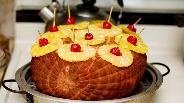 Holiday Ham - Pineapple-Glazed Ham on Parade