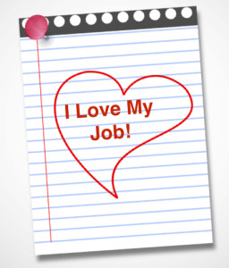 Valentine Heart on Notepad