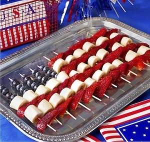 Staff working Memorial Day? Bring in themed-treats and make it a celebration for them too.