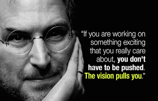 Employee motivation quote by Steve Jobs