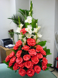 Flowers will brighten your boss's day!
