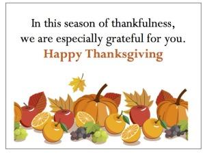 New gThankYou! Employee Thanksgiving Gift Card - Autumn Garland