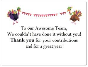 New gThankYou! Employee Thanksgiving Gift Card - Celebrating Turkeys