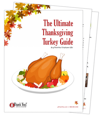 Cooking your Thanksgiving Turkey is easy with this FREE Cookbook from gThankYou.