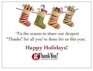 Season's Greetings from gThankYou!