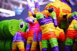 Fun At Work Day - Pinata's make it festive