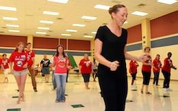 workplace wellness programs - dance class