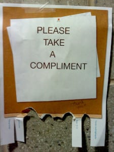workplace compliments take practice and forethought