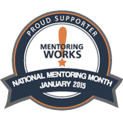 National Mentoring Month Logo - Start Mentoring Your Employees Today!