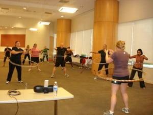 Workplace Wellness Ideas: Hula Hoop Class!