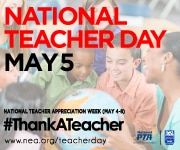 National Teacher Day is today!