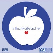 Build Teacher Engagement - #thankateacher!