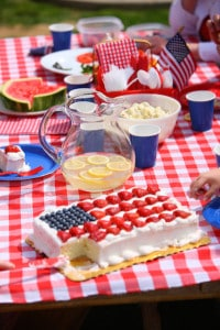 4th of July Workplace Fun - Themed Food