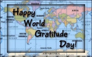 Happy World Gratitude Day!