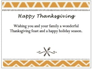 Take advantage of our free Enclosure Cards to personalize your turkey voucher gift!