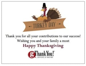 gThankYou workplace thankgiving gratitude