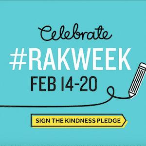 Celebrate Random Acts of Kindness Week #RAKWeek in your workplace!