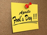 Have some workplace fun for April Fools' Day!