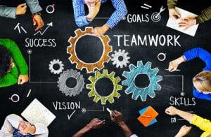 teamwork builds engagement!