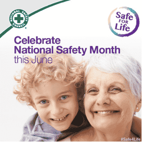 Celebrate National Safety Month this June.